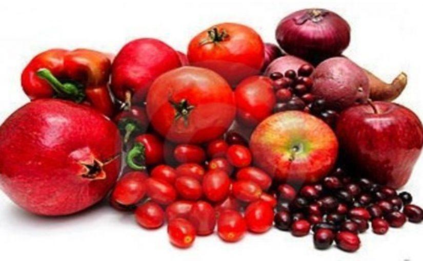 Ликопин в красных овощах и фруктах